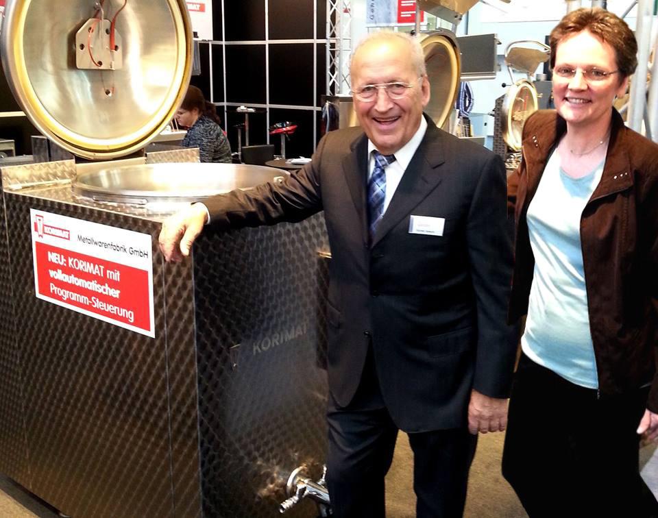 Das Unternehmen KORIMAT Metallwarenfabrik GmbH steht seit 2014 unter der Leitung von Günter Specht und Daniela Kronenburg.